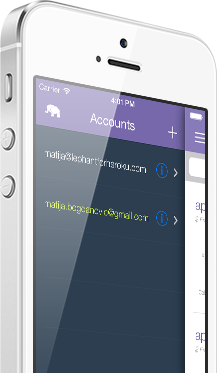 Manage multiple accounts.